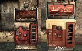 Nuka Cola Vending Machine Unique NukaCola Vending Machine Retexture At Fallout48 Nexus Mods And