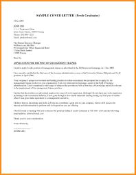 Resume Cover Letter Samples For Fresh Graduates Valid Cover Letter