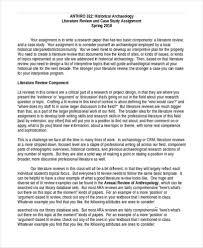 Example Of Literature Essays Literature Review Template Essays
