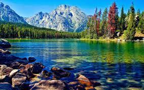 35 Mountain Lake Desktop Wallpapers ...