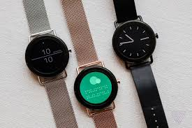 Danish watch brand Skagen is announcing its first touchscreen smartwatch at CES this week. The Falster runs Android Wear and joins Skagen\u0027s lineup of Falster: - Verge