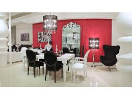 white dining philipe table modern contemporary baroque designer white lacquer dining room tables modani