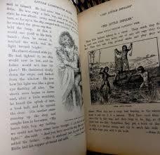 little folks story book antique victorian children 039
