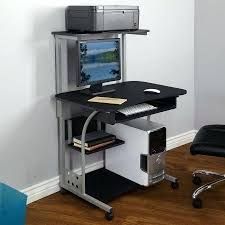 tower computer desk. Tower Computer Desk Mobile Within With Shelf Multiple Finishes Com Idea . A