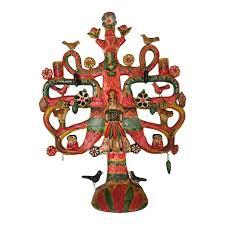 Aurelio Flores Tree of Life Sculpture | Chairish