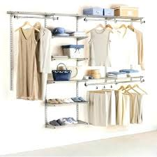wall mounted closet organizers open systems black walk in wardrobe home amp storage wire shelving for