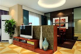 Low Tv Partition Wall Design Ideas