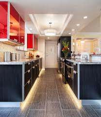 Led Kitchen Lights Kitchen Lighting Red Led Strip Lights Under Kitchen Cabinet For
