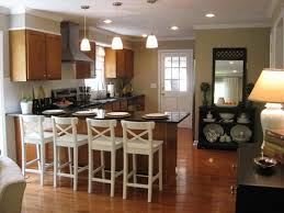 beautiful track lighting. Beautiful Small Kitchen Makeovers With White Chairs And Track Lighting Pendant Light I
