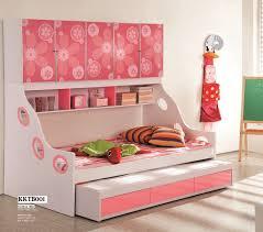 Kids bed Headboard Fleur Floral Pink Kids Trundle Bed Kids Kouch Summer Yellow Kids Twin Bedsimple Kids Bed Online