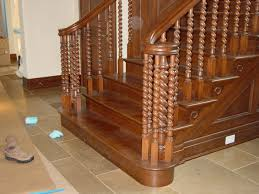 wood stair railing parts 14