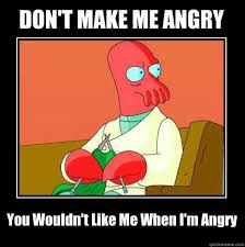 zoidberg is angry memes | quickmeme via Relatably.com