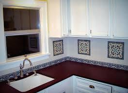painted kitchen backsplash designs decorative tile for kitchens painting kitchen tile backsplash ideas