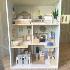 112 dollhouse children bunk bed furniture accessories miniature simulation toy bed furniture bunk and miniatures diy dollhouse furniture d50 dollhouse