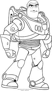 Disegno Buzz Lightyear Di Toy Story 4 Da Colorare