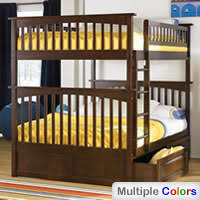 double double bunk beds. Plain Beds Columbia Full Over Bunk Bed Atlantic Furniture Double   To Beds