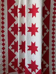 Free People Vintage Handmade Red and White Patterned Quilt ... & Free People Vintage Handmade Red and White Patterned Quilt, $428.00. Two  Color ... Adamdwight.com