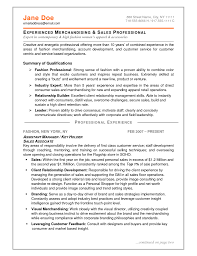 Fashion Resume Format Job And Resume Template