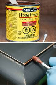 ... for those raw sanded down edges and corners that can ruin your  furniture finish! After you've applied and sanded your last coat of paint,  use a Q-tip to ...