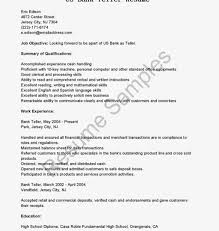 Bank Teller Resume No Experience Resume Template Sample Teller Bank No Experience Cover Letter Head 92