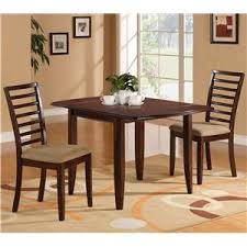 dining table with 2 chairs. holland house ivan table + 2 chairs dining with