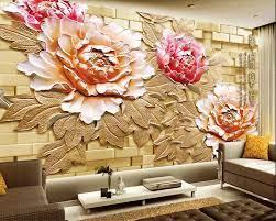 Beibehang Custom Wallpaper Large Relief ...
