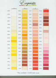 71 Skillful Poly X40 Thread Chart