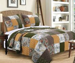 country style french style quilts french style duvet covers uk greenland home fashions cedar creek quilt set white