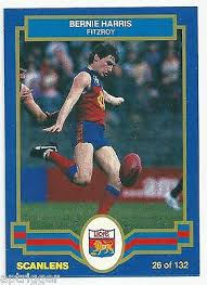 "1986 Scanlens (26) Bernie HARRIS Fitzroy "" Mint ""   eBay"