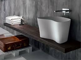 Piano lavabo mensola da bagno in legno massello handmade italy