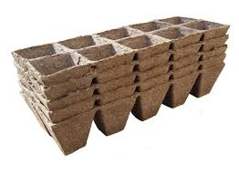 Biodegradable Paper With Flower Seeds Us 11 15 7 Off 5pcs Seed Starting Pots Seed Starter Pots Trays Biodegradable Peat 5 Pack 50 Cells Paper Pulp Pot Bonsai In Nursery Pots From Home