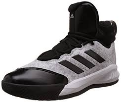 adidas basketball shoes 2015. adidas men\u0027s rim reaper 2015 white, black and grey basketball shoes - 12 uk