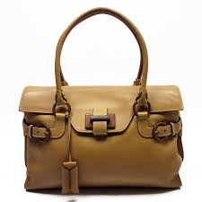 brandvalue salvatore ferragamo salvatore ferragamo shoulder bag camel leather lady s h17604 rakuten global market