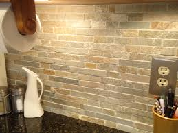 Rock Backsplash Kitchen 1000 Ideas About Stacked Stone Backsplash On Pinterest Stone