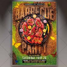Barbecue Flyers Barbecue Flyer Grill Psd Template