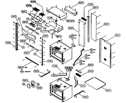 cps230 oven cabinet parts diagram