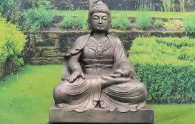 extra large lotus buddha statue