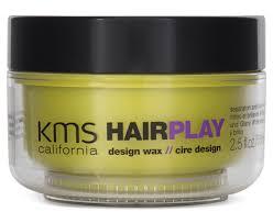 Kms Hairplay Design Wax Kms California Hair Play Design Wax 75ml Catch Com Au