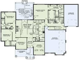craftsman european house plan 82230 level one
