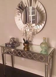 mirror hall table. Our Sophie Mirrored Console Table Makes This Entryway By Wendy818 Plus Comfortable Exterior Art Mirror Hall R