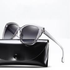 Square Designer Sunglasses Us 8 0 42 Off 2018 New Polarized Sunglasses Women Gradient Lens Square Frame Fashion Brand Designer Sunglasses Vintage Sun Glasses Uv400 In Womens