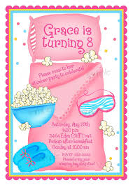 sleepover birthday party invitations for simple invitations of your party invitation templates using exceptional design ideas