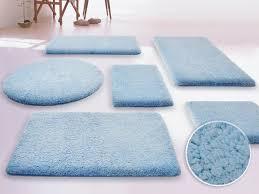 sky blue bathroom rugs