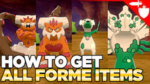 How To Get ALL FORME Changing Items in Pokemon Sword & Shield DLC Crown  Tundra - YouTube
