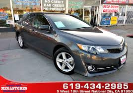 Sold 2014 Toyota Camry SE in National City