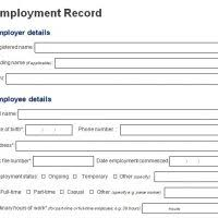 Personal Details Form Template. employee personal details form ...