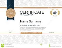 Certificate Layout Design Template Certificate Of Achievement Frame Design Template Layout