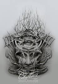 Art тату эскиз Zaryi Chillout Tattoo Workshop
