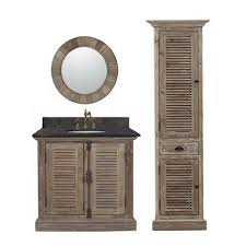 Image Double Sink Legion Furniture 36inch Marble Top Single Sink Rustic Bathroom Vanity With Matching Wall Mirror And Linen Tower Walmartcom Walmart Legion Furniture 36inch Marble Top Single Sink Rustic Bathroom