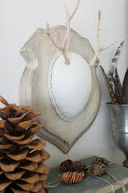 diy faux driftwood deer antler neutral palette texture perfect for fall city